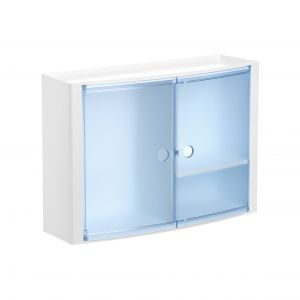 TATAY Horizontalais vannas istabas skapitis zils
