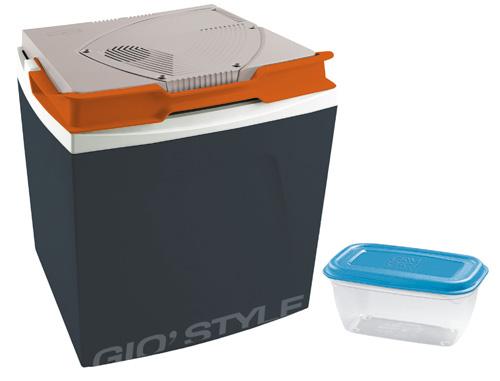 GIO`STYLE Aukstuma kaste elektriskā Shiver Dark Grey 30 / 12V, tumši pelēka