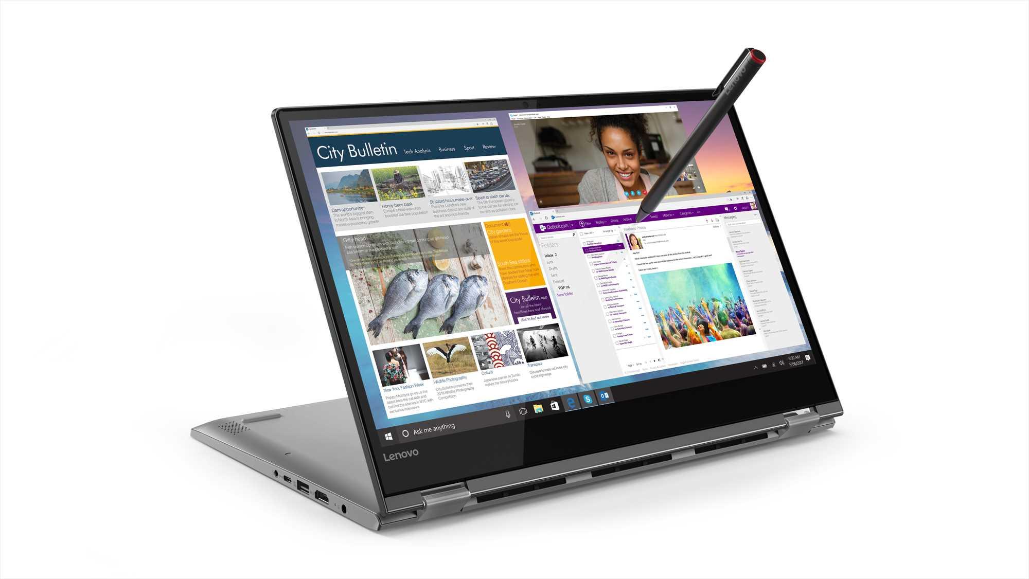 "Lenovo YOGA 530-14IKB 14""FHD/i5-8250U/8GB/256GB SSD(M2)/Win10 (soma, pele) Portatīvais dators"