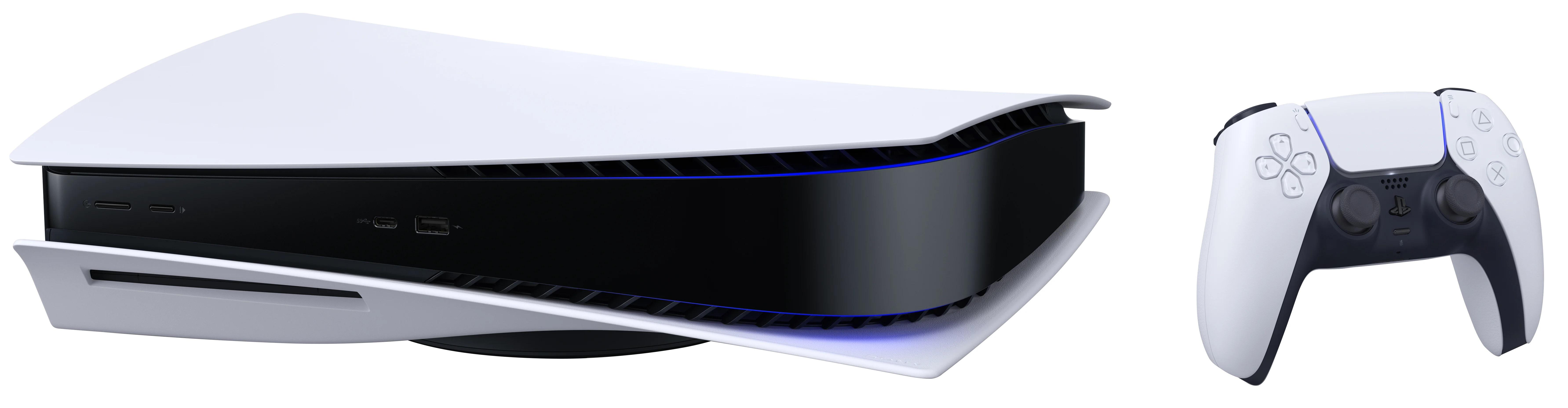 Sony PlayStation 5 PS5 825 GB Wi-Fi Melns, Balts spēļu konsole