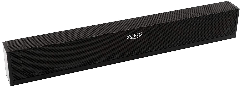Xoro HSB 50 Soundbar 2.0 - Bluetooth Jack Cinch mājas kinozāle