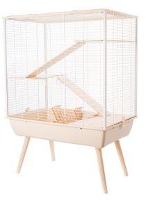 Zolux Neo Cozy beige cage large rodents H80 grauzējiem