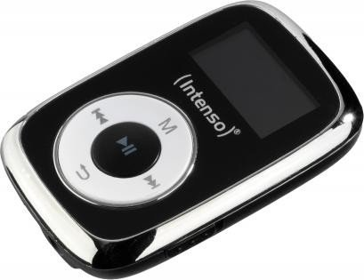 Intenso Music Mover Clip 8GB MP3 Player black MP3 atskaņotājs