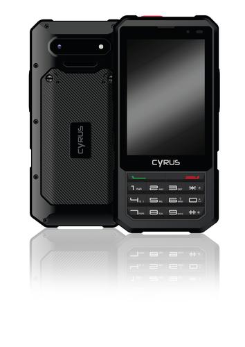 CYRUS OUTDOOR SMARTPHONE CM17XA HYBRID ANDRD                     IN CYR11025 Mobilais Telefons