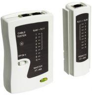 Goobay Network cable tester 68856 Black/White 4040849688560 tīkla iekārta