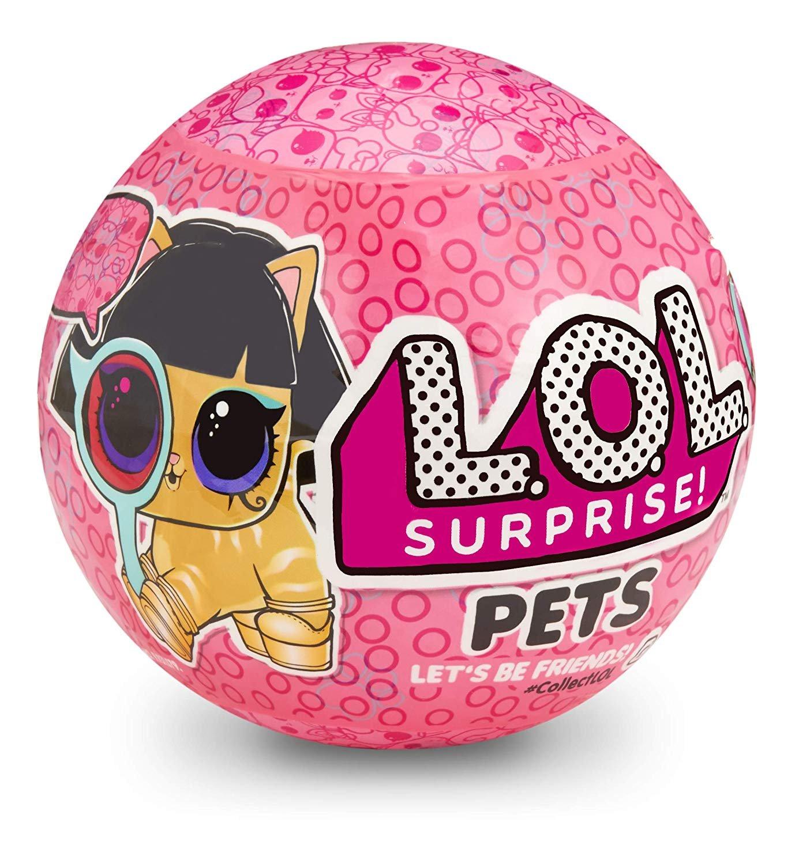 MGA LOL L.O.L. Surprise Pets Ball Series 4-2 Eye Spy (ir uz vietas veikalā) 552093 bērnu rotaļlieta