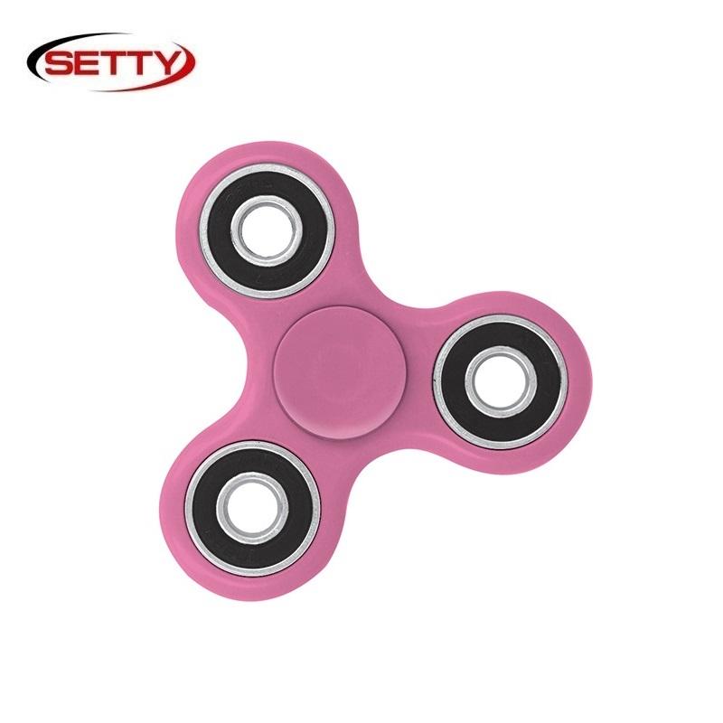 Setty Standarta Roku Spinners Anti-Stress Fidget aksesuārs no Eko Plastikāta Rozā Fidget spinner