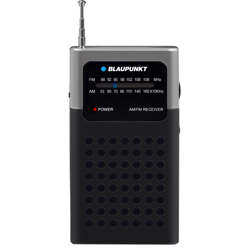 Blaupunkt PR4BK black radio, radiopulksteņi