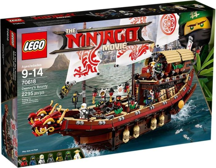 LEGO NINJAGO 70618 Destiny's Bounty LEGO konstruktors