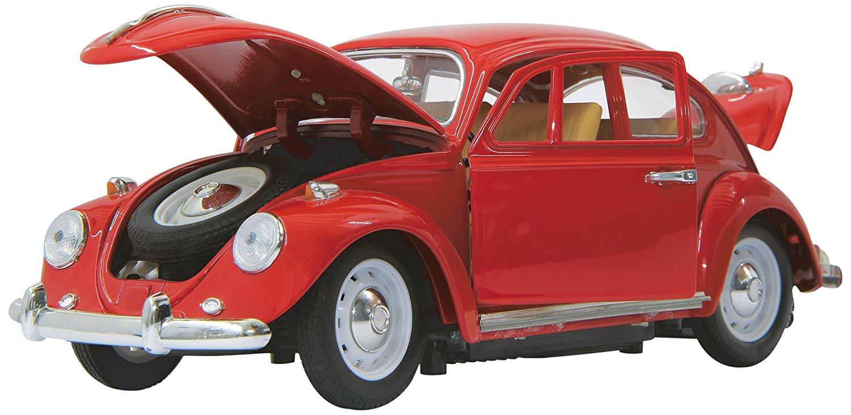 Jamara VW Käfer 1:18 RC Die Cast red - 403030 Radiovadāmā rotaļlieta