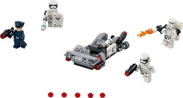 LEGO Star Wars Episode VII - First Order Transport Speeder Battle Pack - 75166 LEGO konstruktors