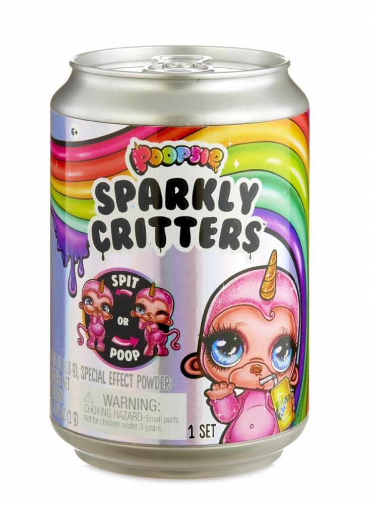 Mga Figurines Poopsie Sparkly Critters 1 pcs 555780E7C/556992 bērnu rotaļlieta