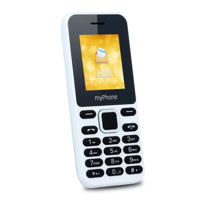 MyPhone 3310 Dual white ENG/LV Mobilais Telefons