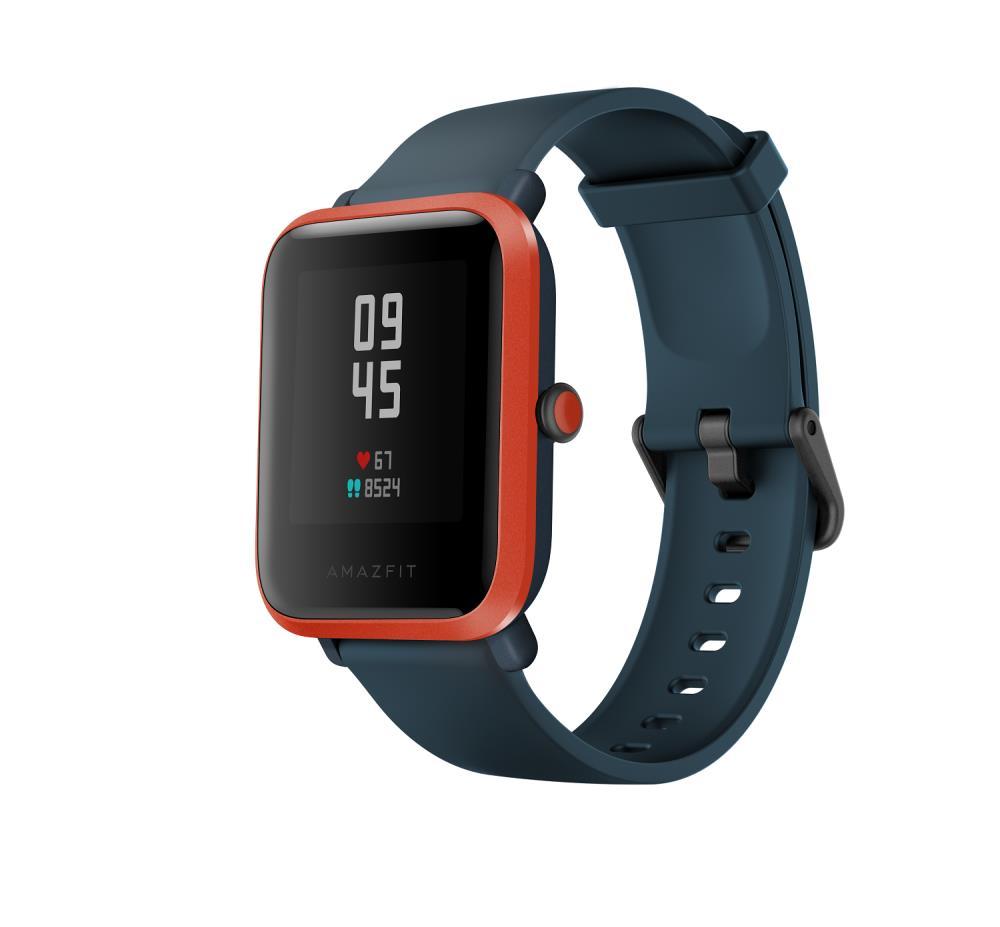 Xiaomi Amazfit BIP S Red Orange Viedais pulkstenis, smartwatch
