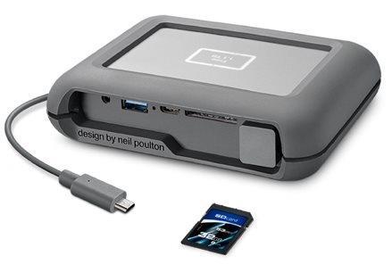 External HDD LaCie DJI Copilot 2TB, USB-C Ārējais cietais disks