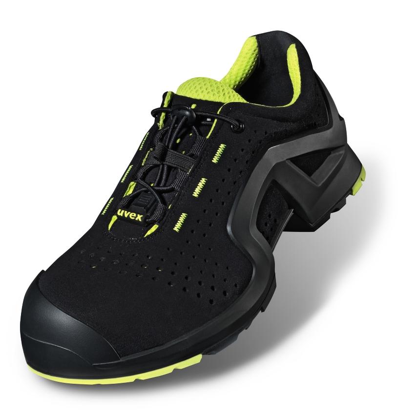 UVEX darba apavi 1 S1 P SRC, maksliga ada, necaurdurama PU zole, loti viegli, erti un elpojosi, sana balsti, izmers 42 darba apavi