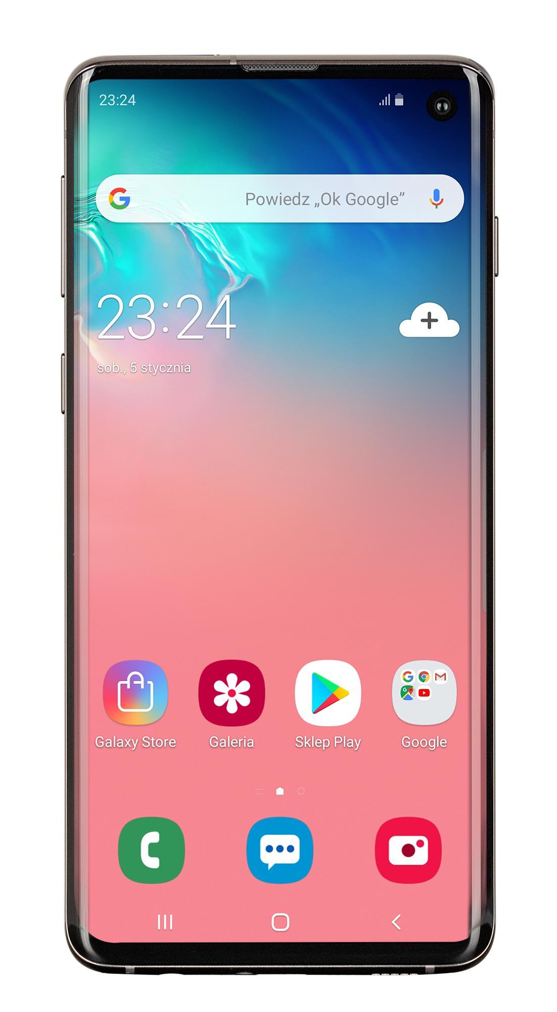 SAMSUNG Galaxy S10 128GB Black Mobilais Telefons
