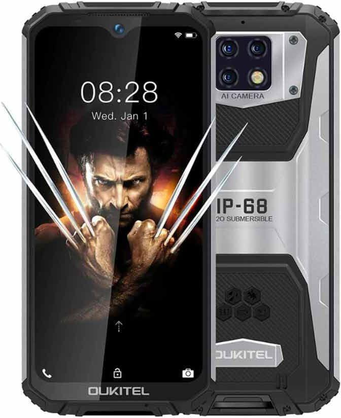 Smartfon Oukitel WP6 128 GB Dual SIM Czarny  (oukitel_20200617171927) oukitel_20200617171927 Mobilais Telefons