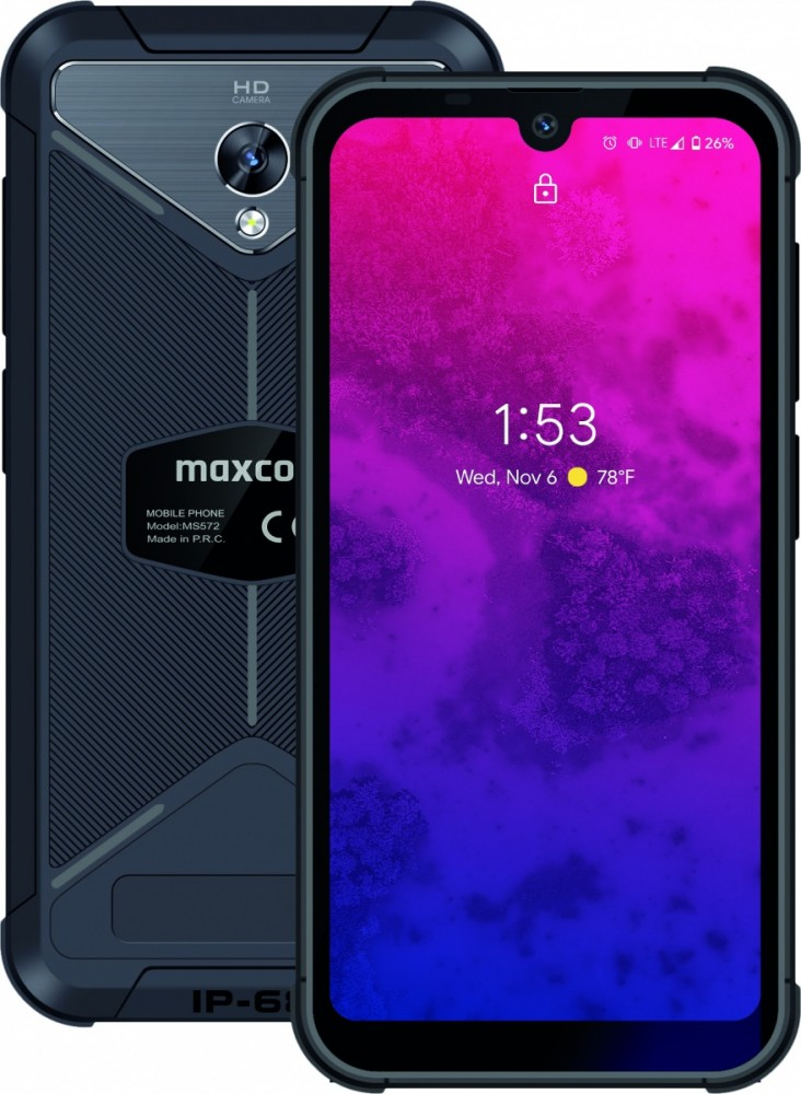 Smartfon MS 572 4G NFC MAXCOMMS572NFC Mobilais Telefons