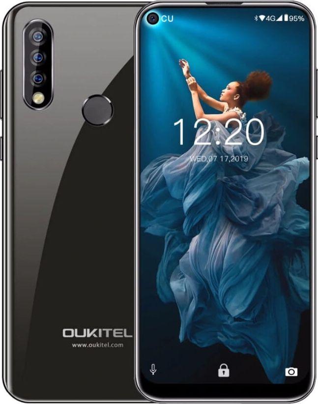 Smartfon Oukitel C17 Pro 64 GB Dual SIM Czarny  (oukitel_20200617171431) oukitel_20200617171431 Mobilais Telefons