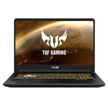 "Asus TUF Gaming FX705DU-AU033R Metal - Gunmetal, 17.3 "", FHD, 1920 x 1080 pixels, Matt, AMD Ryzen, Ryzen 7-3750H, 16 GB, DDR4, SSD Portatīvais dators"