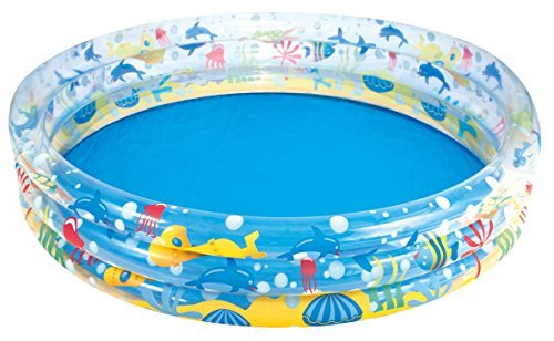 Bestway 51005 INFLATABLE SWIMMING POOL CLEAR DIVE 183cm x 33cm Baseins