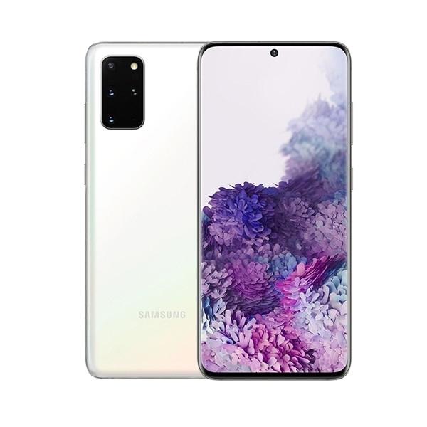 Samsung G985F/DS Galaxy S20+ Dual LTE 128GB Cloud White* G985F/DS Cloud White Mobilais Telefons