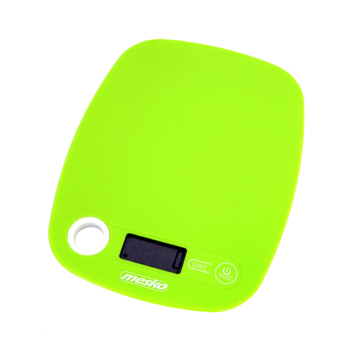 Mesko Kitchen scale MS 3159g Maximum weight (capacity) 5 kg, Graduation 1 g, Green 5902934830386 virtuves svari
