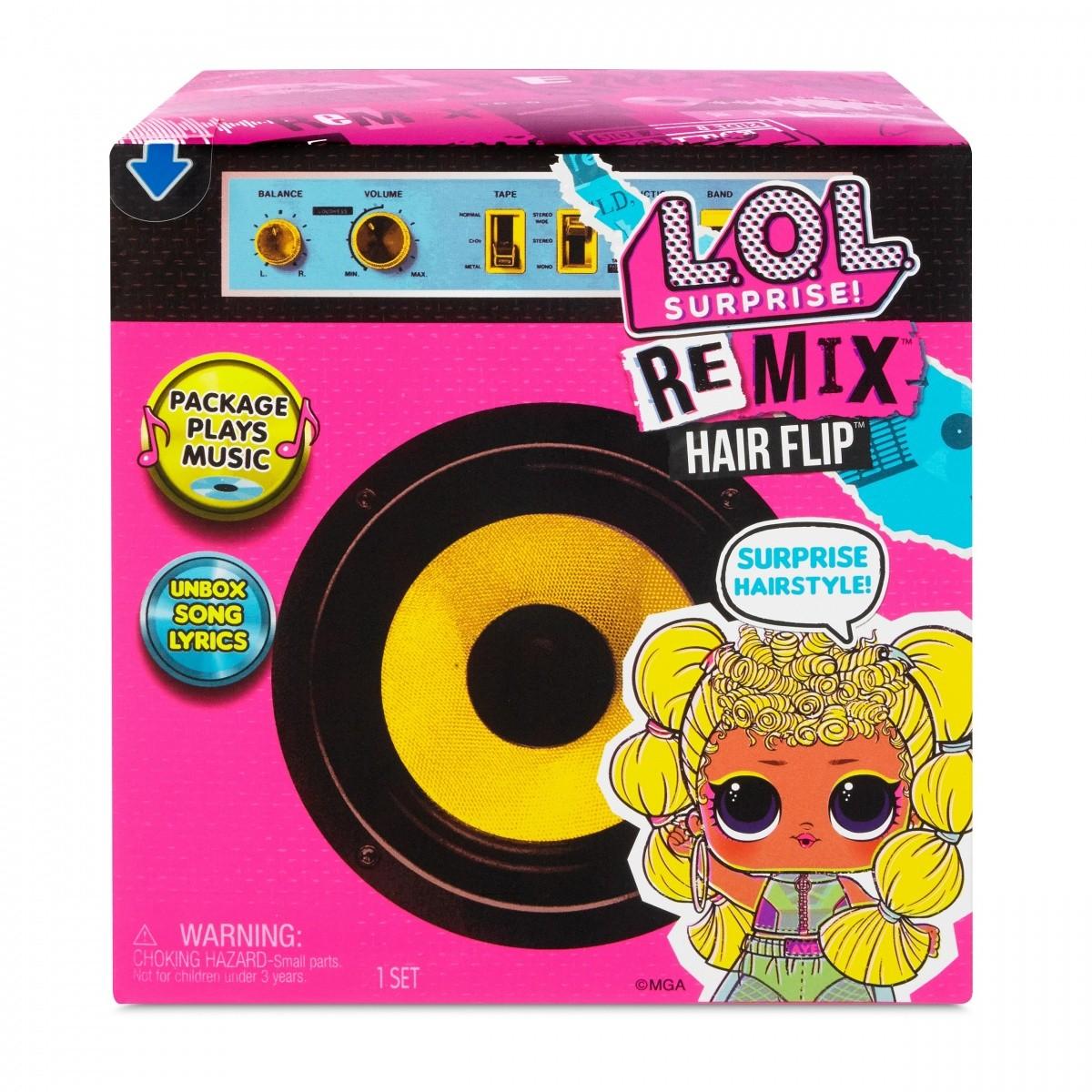 MGA L.O.L Surprise Remix 1 pcs bērnu rotaļlieta