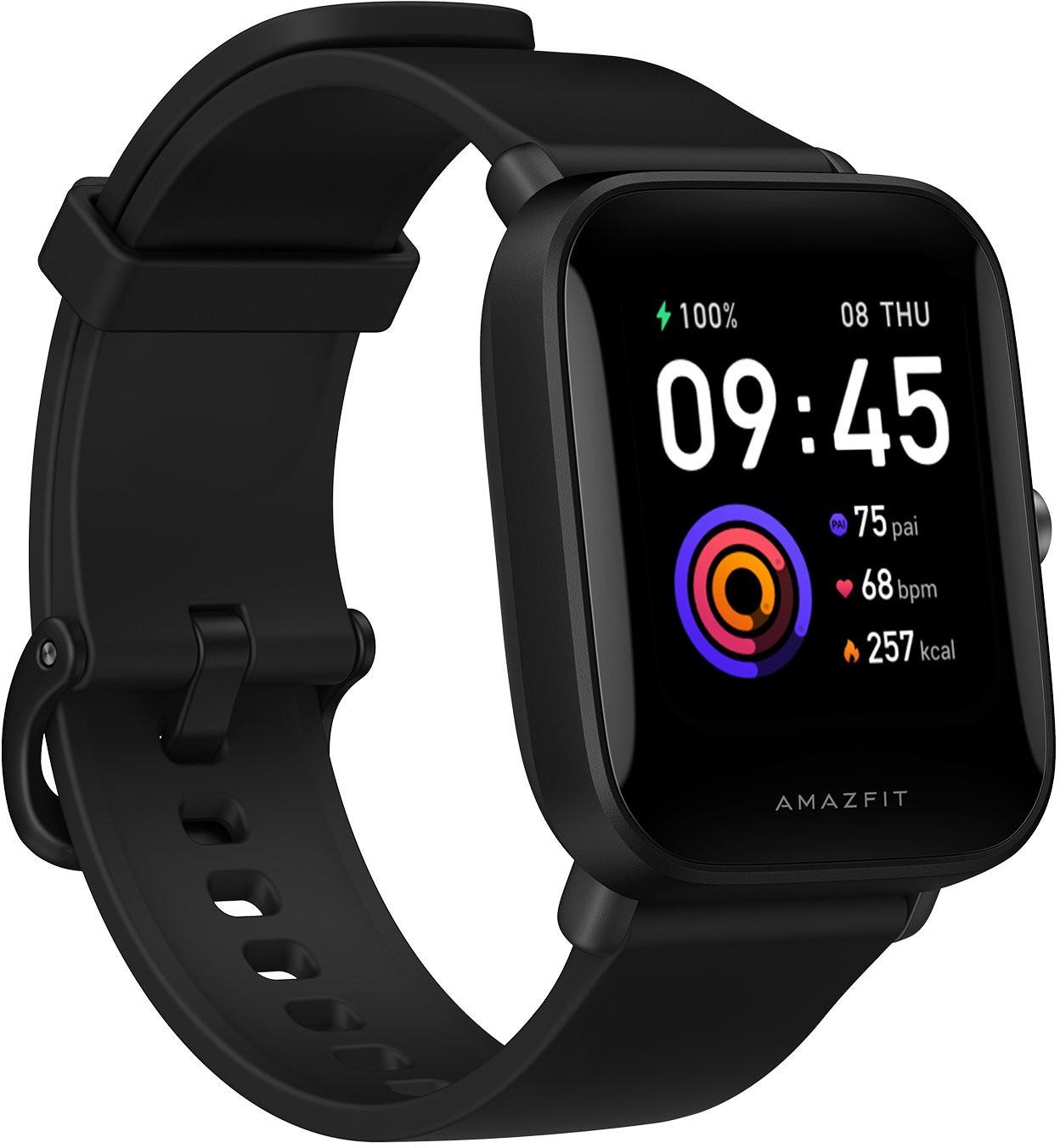 Amazfit Bip U Smart Watch, Black Viedais pulkstenis, smartwatch
