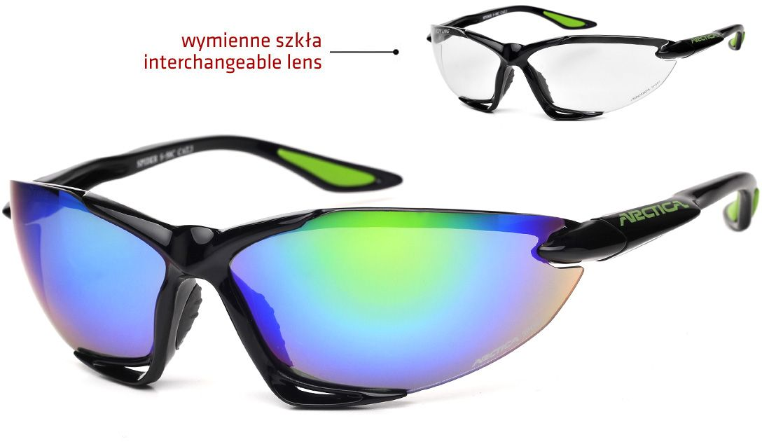 Arctica Sports glasses black (S-50C)