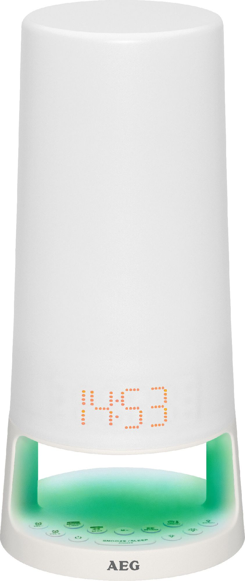AEG MRC 4147 (white color) radio, radiopulksteņi