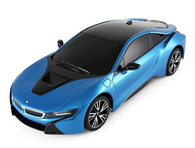 Rastar BMW i8 RASTAR 1:18 RTR blue Radiovadāmā rotaļlieta