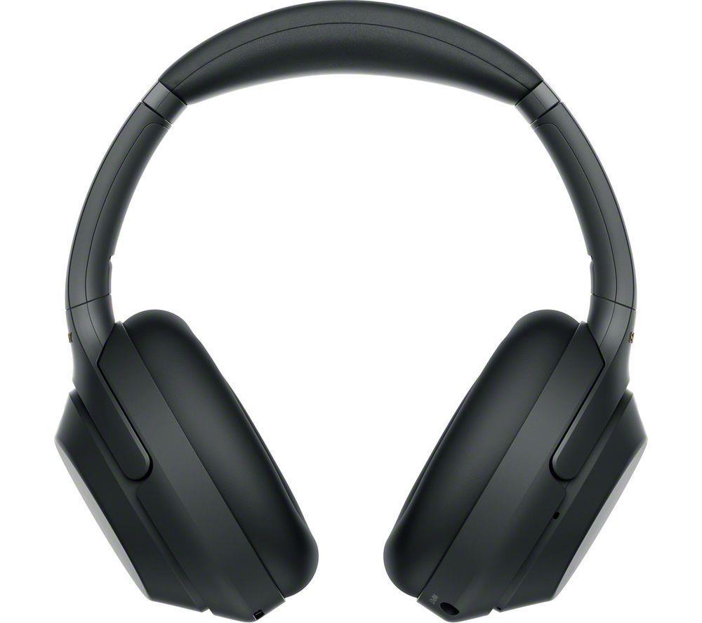 Sony Headphones  WH-1000XM3 Headband/On-Ear, 3.5mm (1/8 inch), Black, Noice canceling, Wireless austiņas