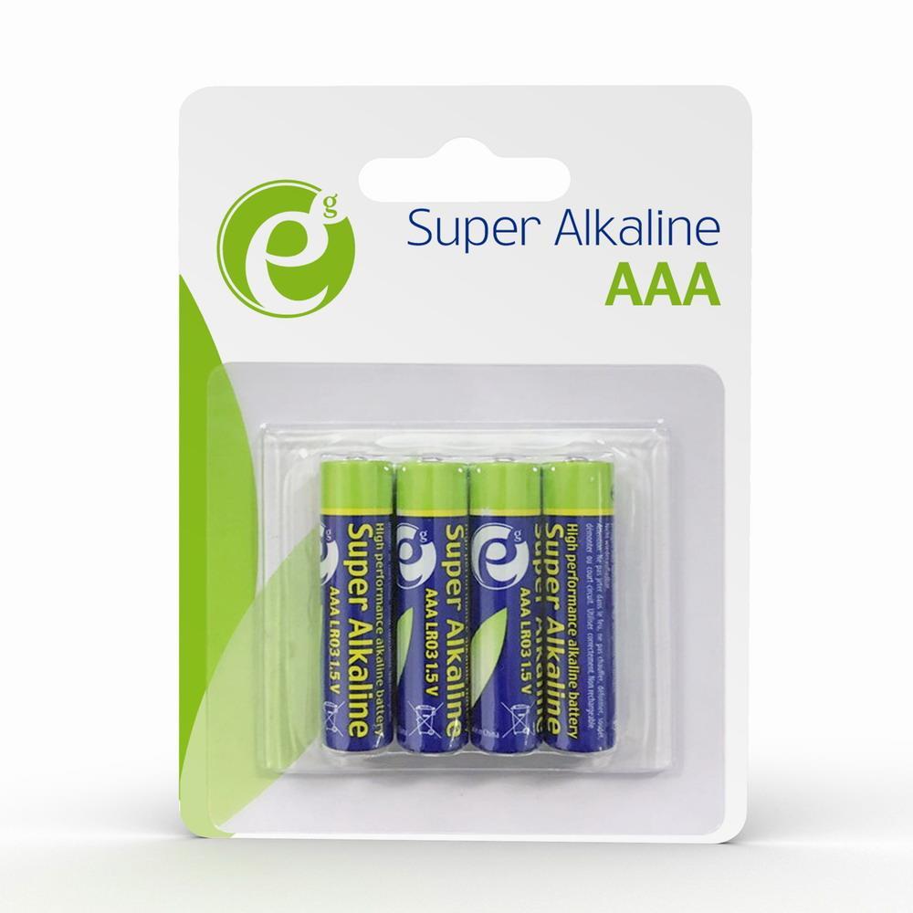 Gembird Battery alkaline AAA 4-pack Baterija