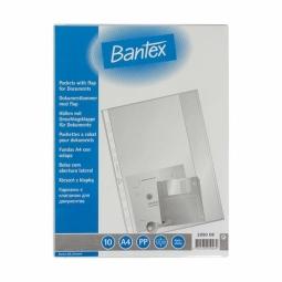 Dokumenta kabatiņas Bantex A4 (100pcs)