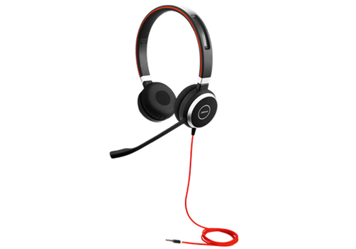 Jabra  EVOLVE 40 UC Duo Headset With 3.5mm Jack austiņas