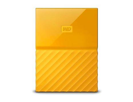 WD My Passport 2TB portable Yellow Thin Ārējais cietais disks