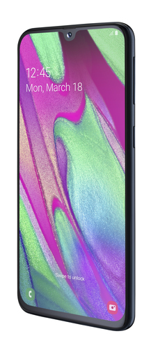 Samsung Galaxy A40 4GB/64GB Black Mobilais Telefons
