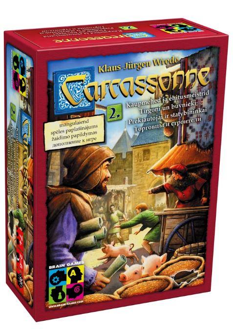 Brain Games Carcassonne exp 2: Traders & Builders galda spēle