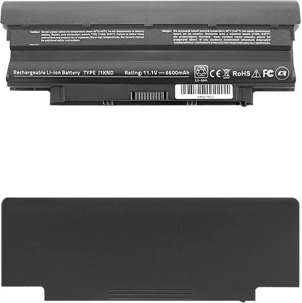 Qoltec Long Life Notebook Battery -  Dell N4010 14R   6600mAh   11.1V akumulators, baterija portatīvajiem datoriem