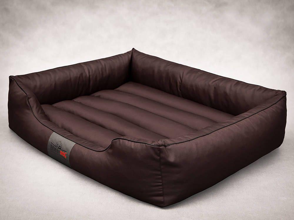 HOBBYDOG Comfort bed - Dark brown XXXL