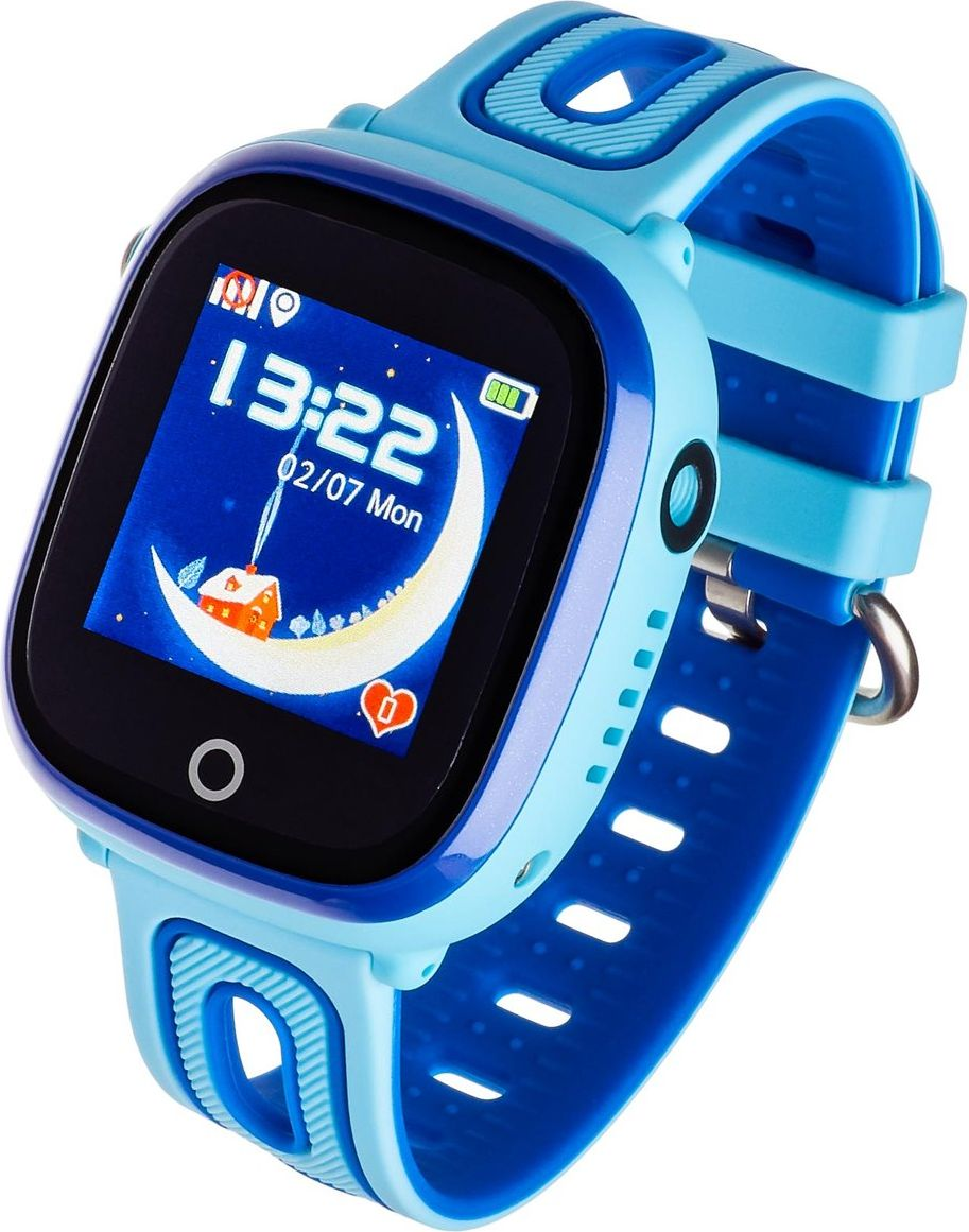 Garett Kids Happy Blue Viedais pulkstenis, smartwatch
