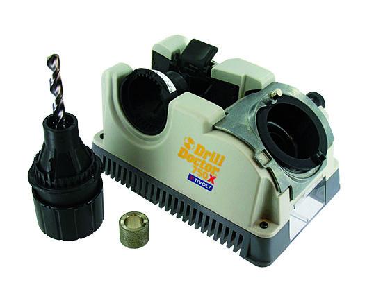 Metala un betona urbju asinasanas stends Drill Doctor 750 urbjiem no O2,5>19 mm, ar smailes lenki 118-135