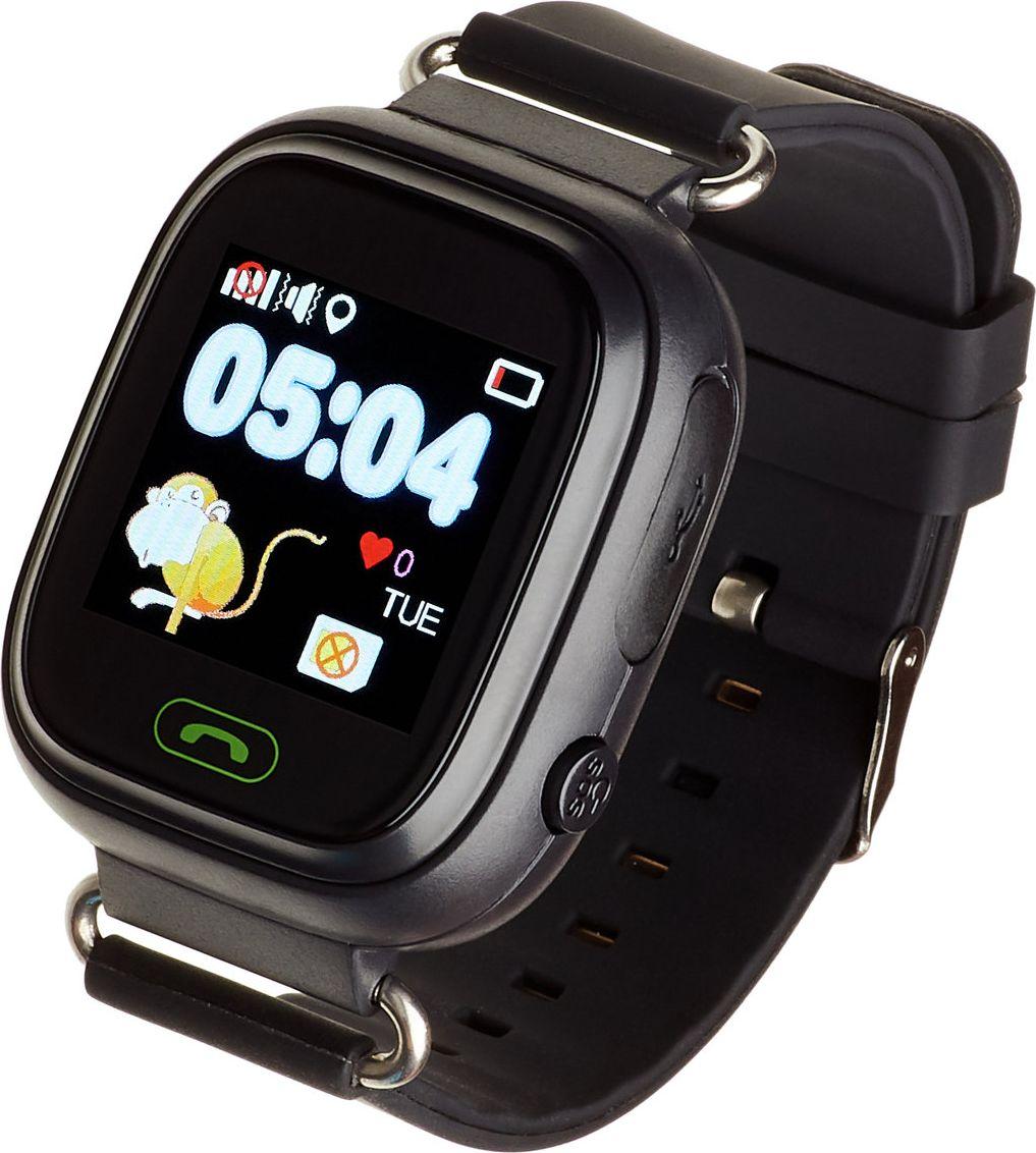 Garett Kids 2 Black Viedais pulkstenis, smartwatch