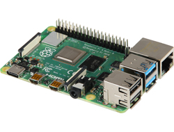 Raspberry Pi 4B, 4x 1,5 GHz, 2 GB RAM, WiFi & BT, SoC-Mini-Mainb Raspberry PI datora daļas