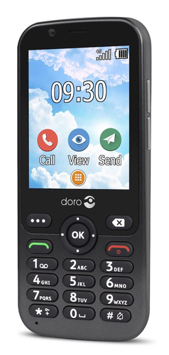 Doro 7010 graphite Mobilais Telefons