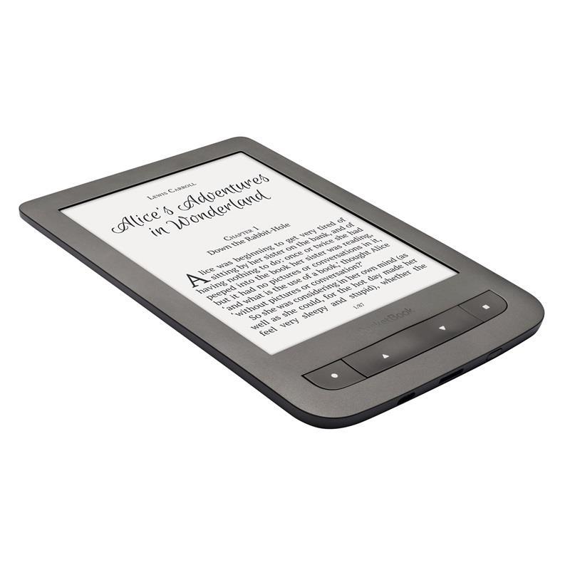Pocketbook Touch Lux 3 Dark Grey Elektroniskais grāmatu lasītājs