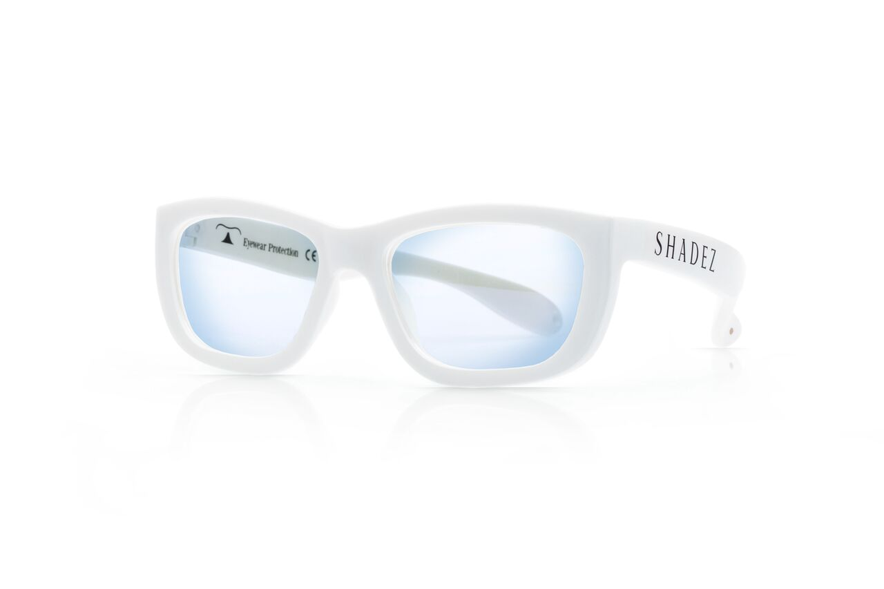 SHADEZ Blue Light White Teeny bērnu brilles digitālajām ierīcēm, 7-16 gadi SHZ 105 saulesbrilles