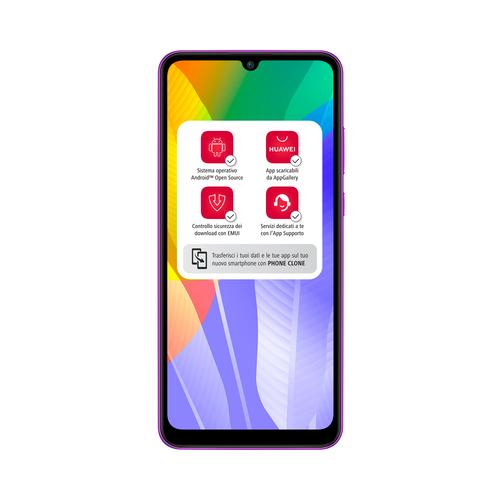 Huawei Y6P 3GB/64GB Phantom Purple Mobilais Telefons